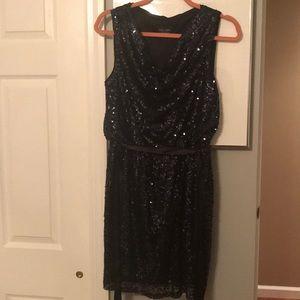 Sequin Xscape Dress